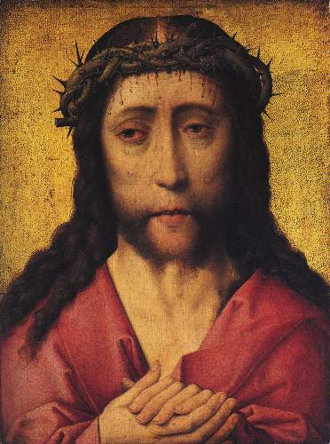 Christ crowned with thorns [2] by Unknown